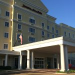 Main Entrance To The Vicksburg, MS Hampton Inn