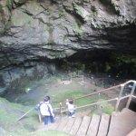 Going down Zeus cave