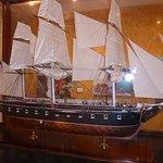Nice models of old sailing ships