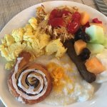Some of the breakfast offerings