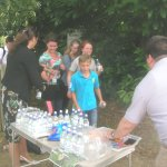 Walkathon on the Midhurst Way at Easebourne - refreshments.