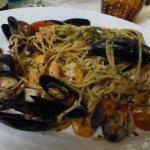 spaghettis aux palourdes, moules