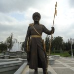 The statues of National Heroes.