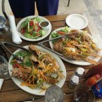 1st and best fishing experience. Our catch and dine buffet yumcious hmmmmmm