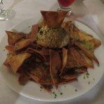 Blue Crab Dip with Tortillas