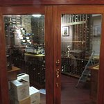 Temperature controlled wine storage room