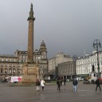 Glasgow - George Square (Looking West)