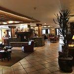 The Rueben Heflin Restaurant in the lobby of the Hampton Inn, Kayenta, AZ