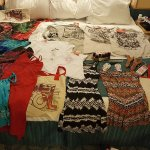 Items purchased at Del Sol and other shops.