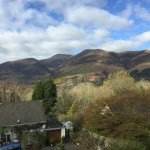 view of Skiddaw from room