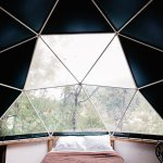 Stay in a geodesic dome!