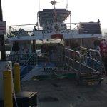 Body Glove boat at dock