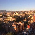 la vista desde el 10mo piso :)