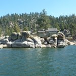 Big Bear Lake with China House in background