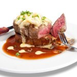 PCB Steaks-Captain's Filet-Aged Steaks & Fresh Seafood-Visit boarsheadrestaurant.com  Near AQUA