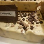 cookie dough up close