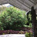 Entrance into Lodge.