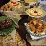 All different types of cakes and Casserole.