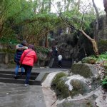 trail lead to Baoguo Temple