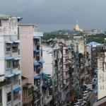 View to Shwedagon Pagoda
