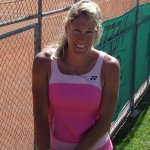 USPTA Certified Elite Tennis Professional and National Clay Court Champion, Susan Evans!