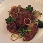 Braised sirloin of beef 'special'