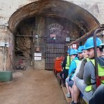 Entering the mine!
