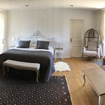 Deluxe large double room with large private terrace, air conditioning , private bathroom