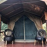 Quite a glamping experience