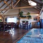 Fresco Valley Cafe, Solvang CA. The interior.