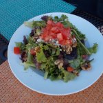 Fresco Valley Cafe, Solvang CA. An AMAZING Salad.
