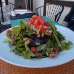 Fresco Valley Cafe, Solvang CA. Just look at the salad.