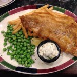 Fish and some chips :)