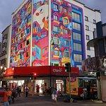 New facade - mural