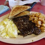 Steak breakfast