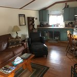 Living area Tom Tom cabin