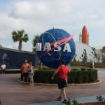 Kennedy Space Center is about 30 minutes away