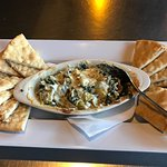 Spinach and Artichoke dip is amazing!