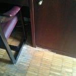 desgaste del mobiliario