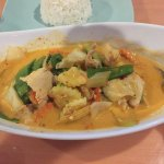 Chicken Panang Curry - Thai Wasabi, Bradenton FL