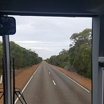 If You're Driving on Kangaroo Island, Here's a View You'll be Seeing a Lot Of! View From our Bus