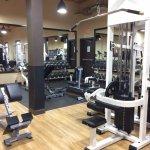 Fabulous, large fitness centre