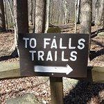 Falls Trail Sign