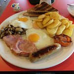 An Olympic breakfast