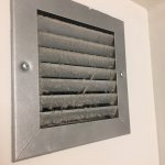 Housekeeping needs to be super lazy to miss the bathroom vent that looks like this. It's at eye