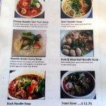 noodle soups menu page