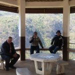Rest stop overlooking the Thai Burma border