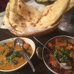curries and plan naan