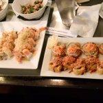 Super Crunch sushi rolls