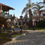 arquitectura del parque